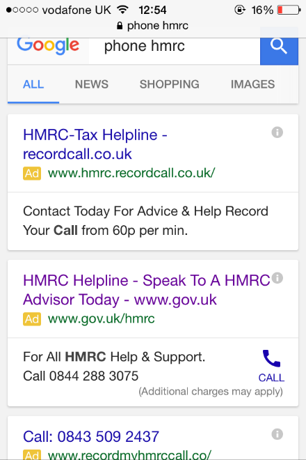 Don't get caught out by fake HMRC phone numbers | Low