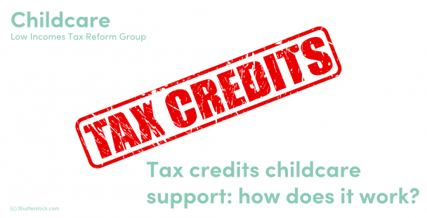 Illustration of the words tax and credits