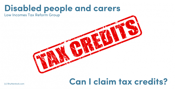 Illustration of a stamp with the words tax credits