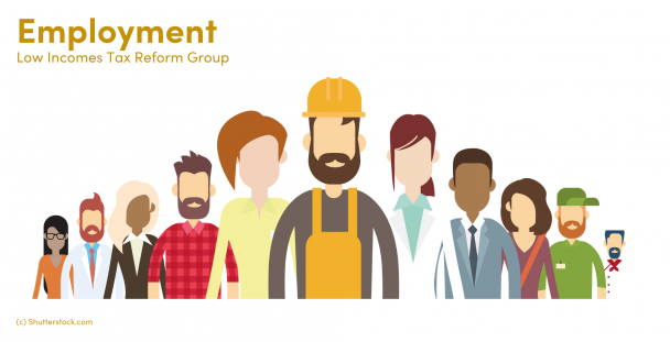 Illustration of a group of workers