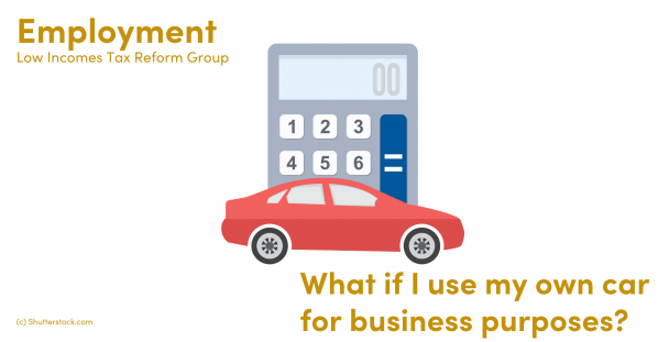 Illustration of a car and a calculator