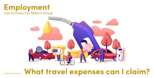 Illustration of people, cars, petrol pump, bicycle