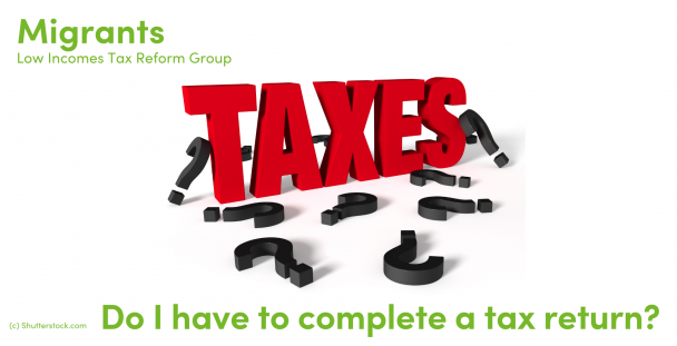 Illustration of the word tax surrounded by question marks