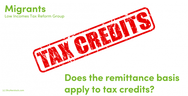 Illustration of the words tax credits