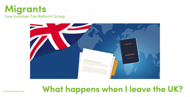 Illustration of a Union Jack, paperwork and a passport