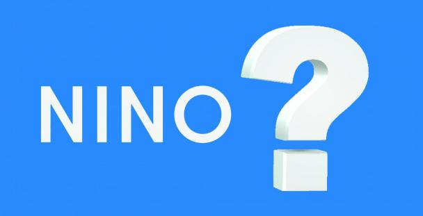 Image of the acronym NINO next to a question mark