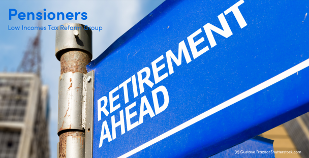 Image of a sign saying retirement ahead