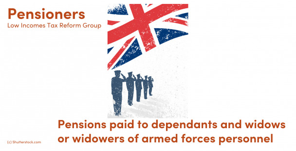 Illustration of soldiers with a Union Jack