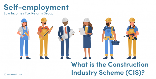 Illustration of construction workers
