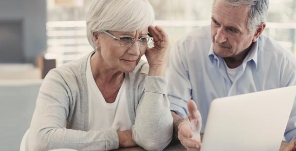 worried pensioners