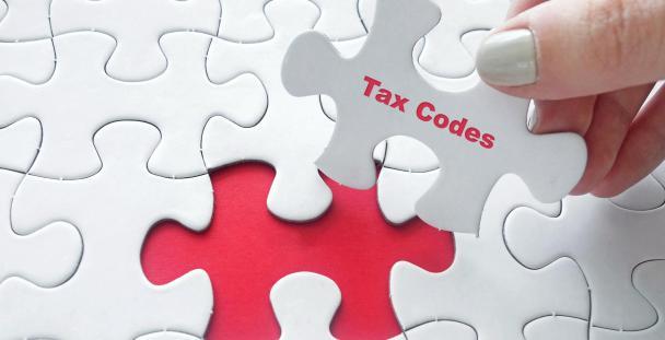 jigsaw tax codes