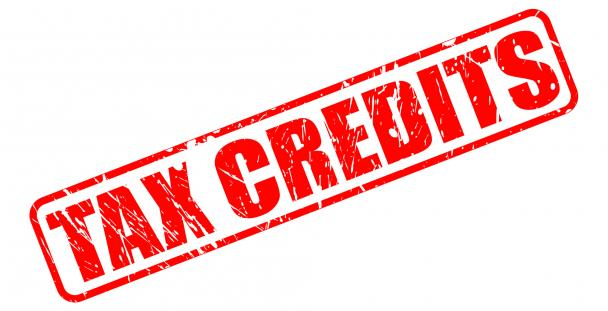 Image of the words tax credits