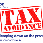 tax avoidance red stamp