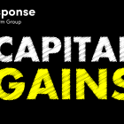 Image with the word capital gains written on it