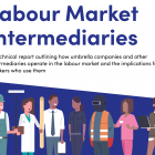 Image of the cover of the Labour Market Intermediaries report 2021