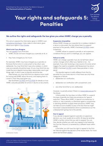 LITRG-factsheet-HMRC-rights-and-safeguards-penalties-2020-cover