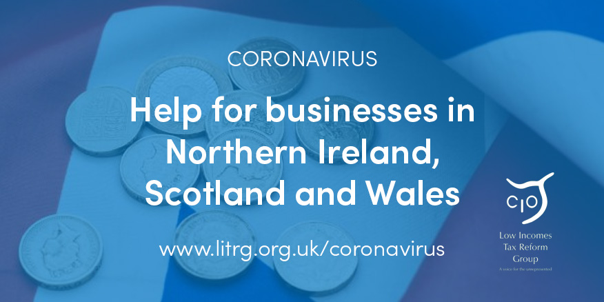Coronavirus Help For Businesses In Northern Ireland Scotland And
